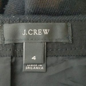 J. Crew Skirts - J. CREW Black Wool Pencil Skirt  A2-4